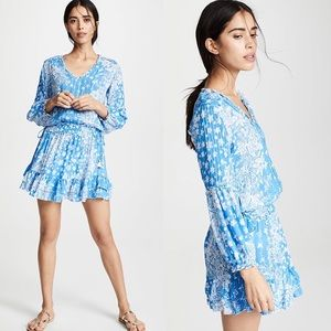 Poupette St. Barth Ilona Ruffle Mini Dress